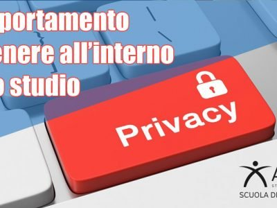 privacy in studio di osteopatia